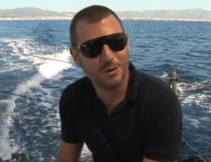 Hugo Boss Racing Yacht Mallorca