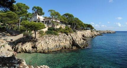 Le village de Cala Rajada à Majorque