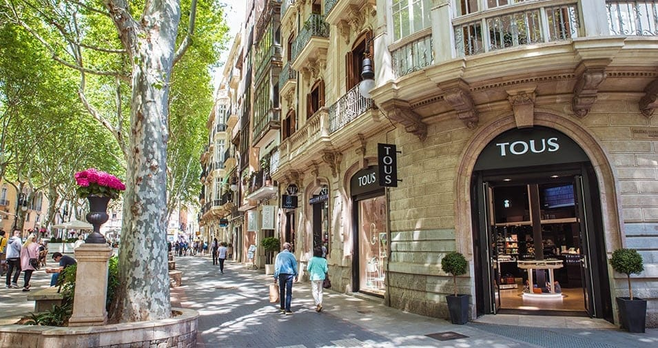 Palma's shops open Sundays