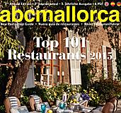 Los Top 101 Restaurantes de abcMallorca 2015