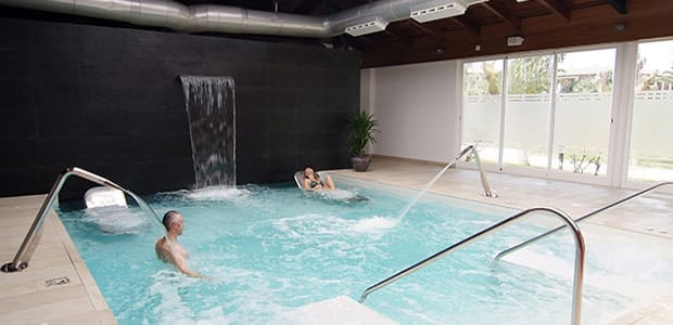 Pamper yourself in a spa