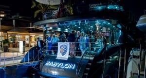 Camper & Nicholsons on board Babylon