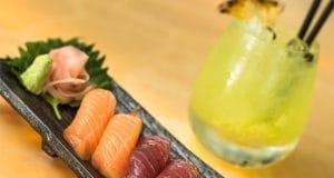 Sushi at Jumeirah' Sunset Lounge Bar