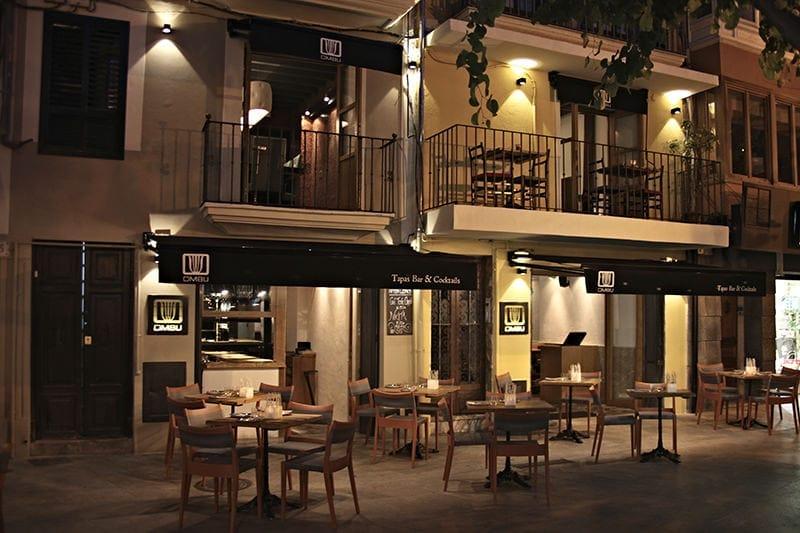 Omb tapas bar cocktails in palma all about mallorca Diseno de interiores palma de mallorca