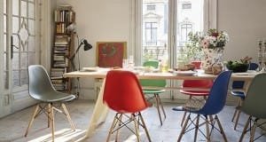 Vitra increases height of classic Eames plastic chairs