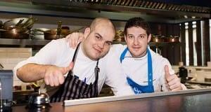 TV 'Top  Chef' Marcel Ress cooks at Mar de Nudos