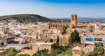 Mediterranean Old Town Felanitx Majorca Spain