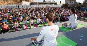 Yoga Event in Port Adriano