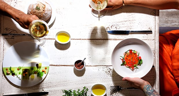 Experimental gastronomy at Fosh Lab in Palma