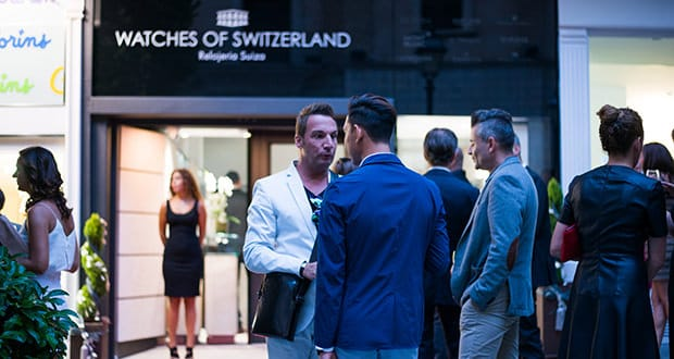 Watches of Switzerland opening party