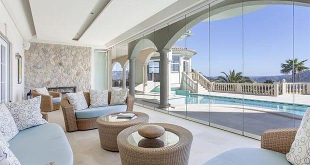 spektakul re villa in port d 39 andratx alles ber mallorca. Black Bedroom Furniture Sets. Home Design Ideas