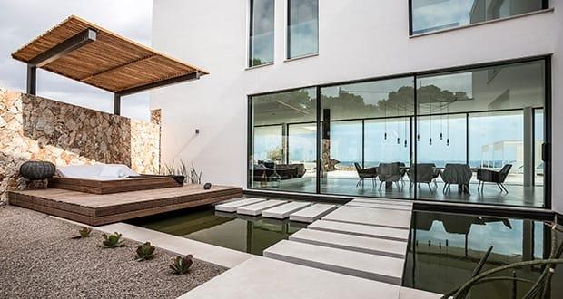 Minimalistische villa in cala pi alles über mallorca