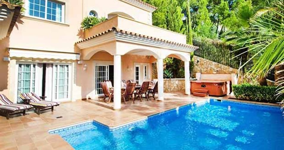 Villa verano tranquila y frente al mar todo sobre mallorca - Banos arabes mallorca precio ...