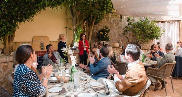 abcMallorca Business Lunch im Trespais