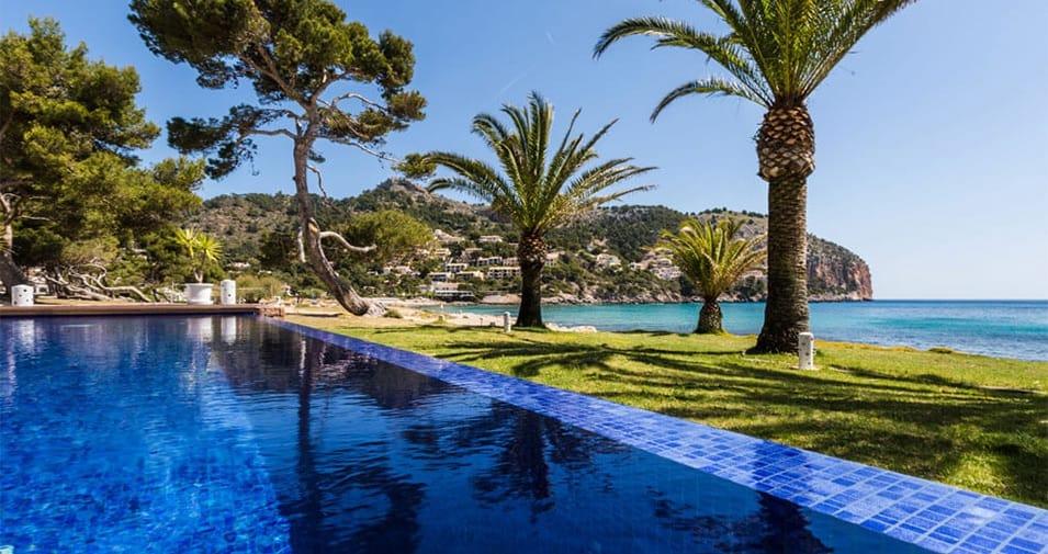 Top 20 hoteles de lujo frente al mar en Mallorca
