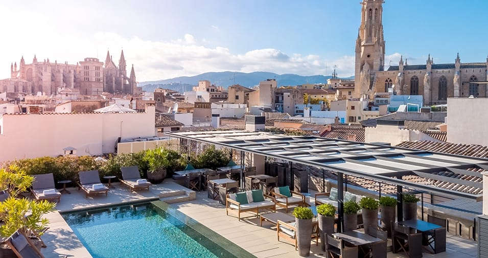 Rooftop Bars Restaurants With Views In Palma Abcmallorca