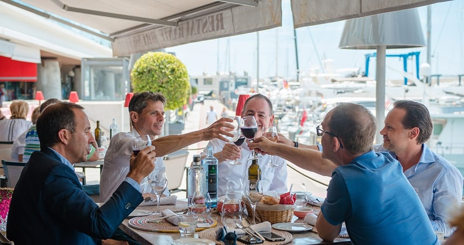 Bruno hosts abcMallorca Business Lunch