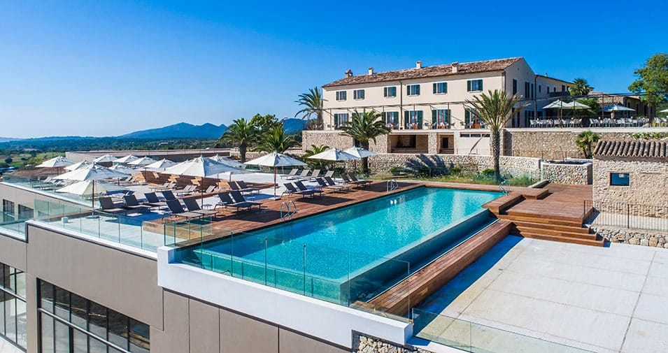 Luxuriöse Nächte im Carrossa Hotel Spa Villas