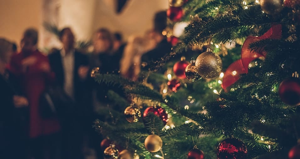 Weihnachtliche Cocktailparty im Palacio Can Marques
