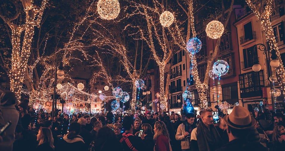 61d7d89d40a Luces de Navidad en Palma - abcMallorca brinda la mejor experiencia ...