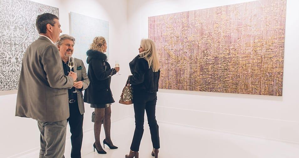 Vernissage in der Gallery Red für Federico Miró