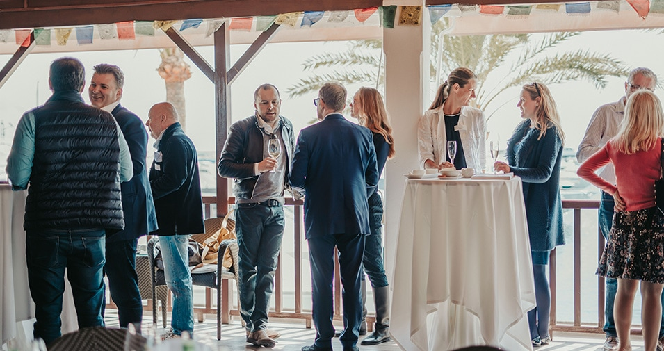 Flanigan hosts abcMallorca Business Lunch