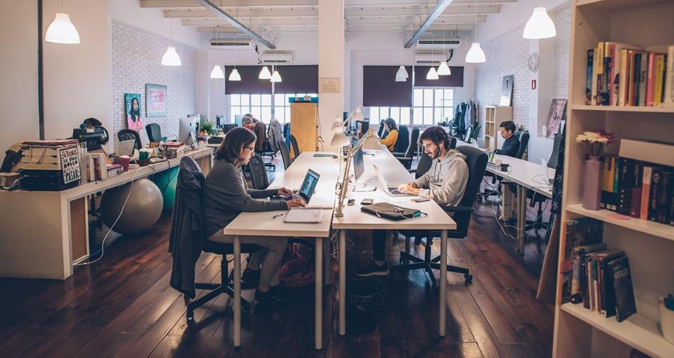 El auge del co-trabajo
