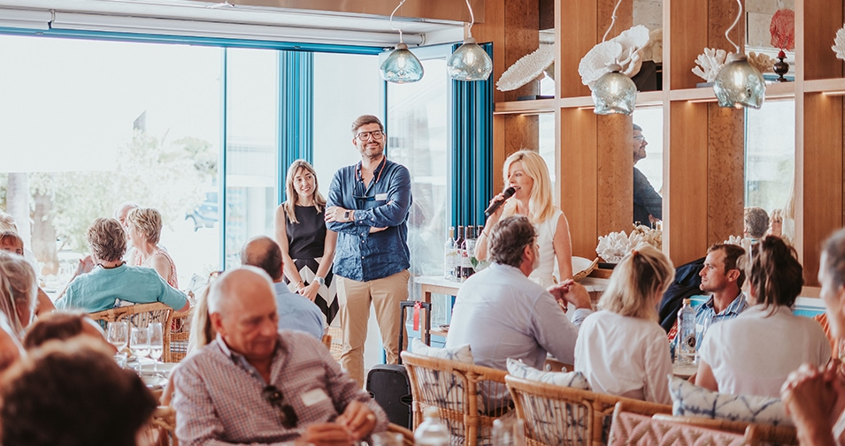 Das Salicornia veranstaltet abcMallorca Business Lunch
